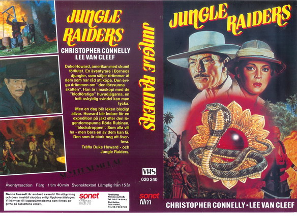 020 240 JUNGLE RAIDERS (VHS)
