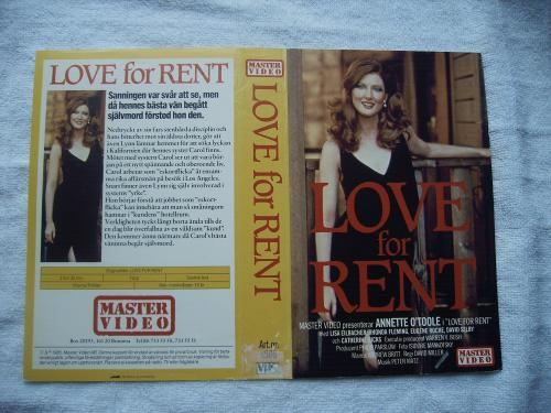 8506 LOVE FOR RENT  (VHS)
