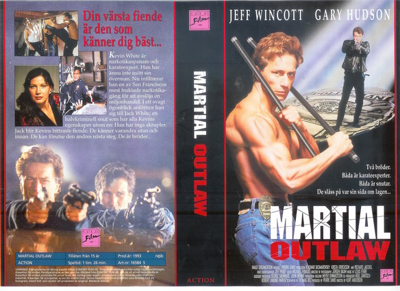 MARTIAL OUTLAW (VHS)