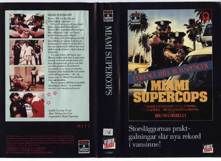 25069 MIAMI SUPERCOPS (VHS)