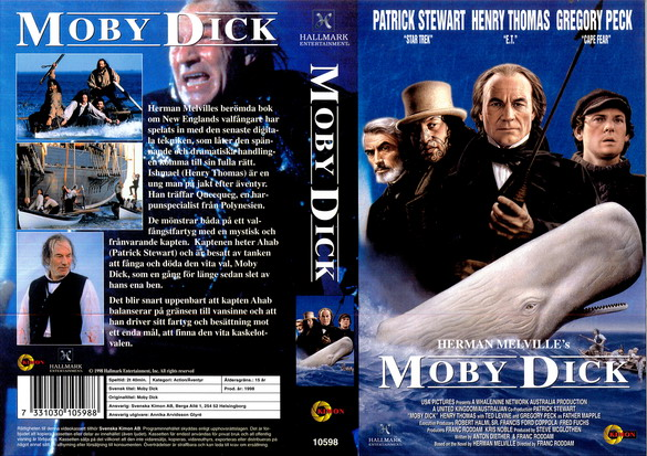 10598 MOBY DICK (vhs)