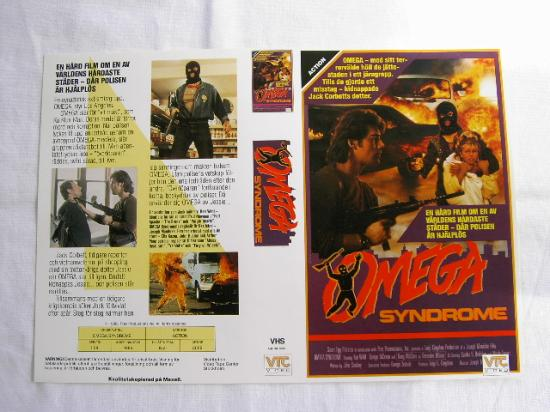 3036 OMEGA SYNDROME (VHS)