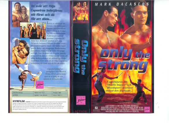 ONLY THE STRONG (VHS)