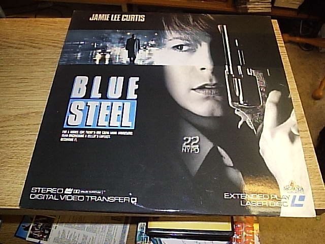 BLUE STEEL (LASER-DISC)