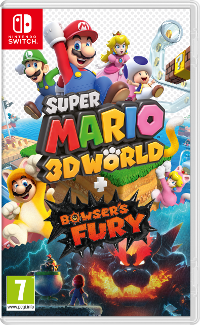 Super Mario 3D World + Bowser's Fury(switch)