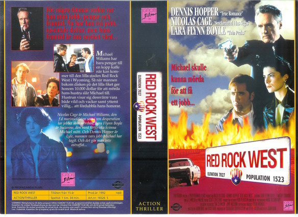 RED ROCK WEST (VHS)