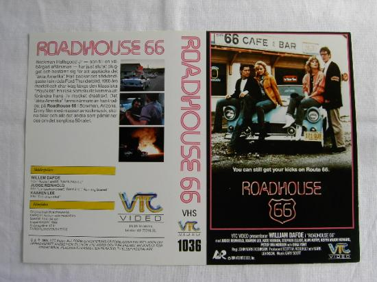 1036 ROADHOUSE 66 (vhs) tittkopia