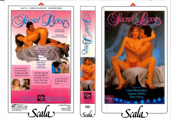 SECRET LOVERS (VHS)