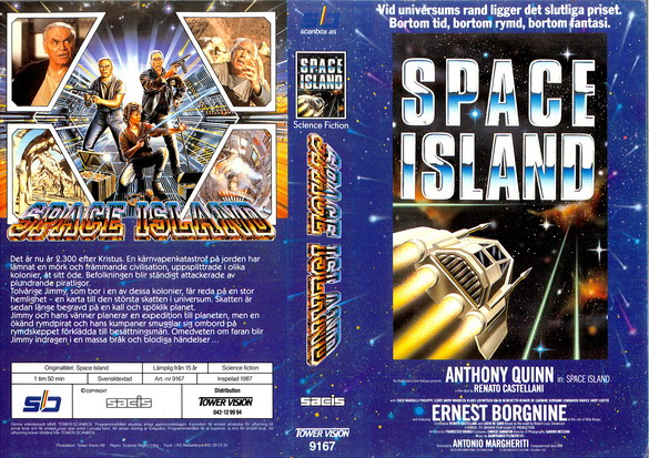 9167 SPACE ISLAND (VHS)