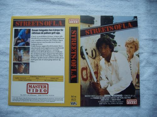 8523 STREETS OF L.A.  (VHS)