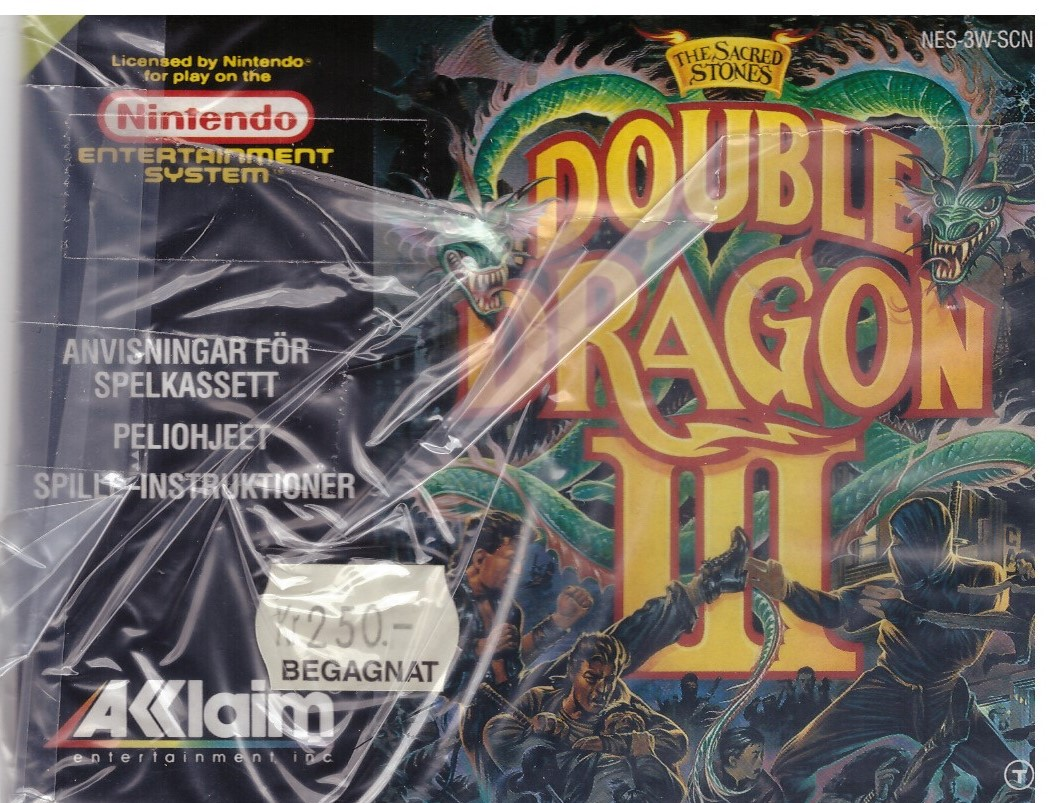 DOUBLE DRAGON (NES MANUAL)