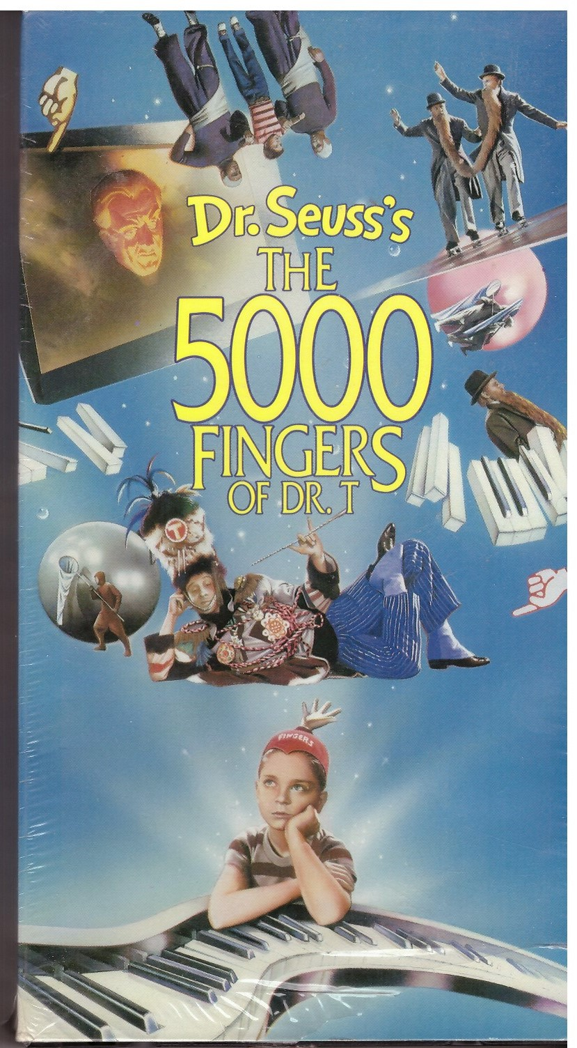 DR SEUSS'S 5000 FINGERS OF DR.T (VHS) USA