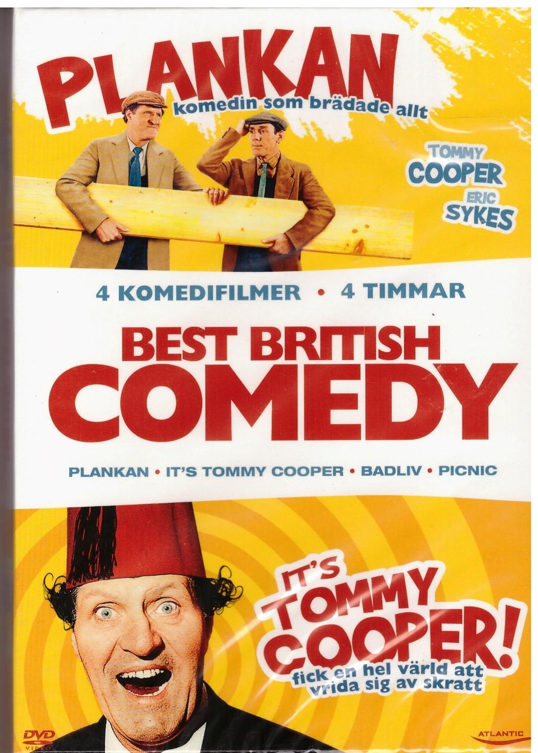 BEST BRITTISH COMEDY (DVD)