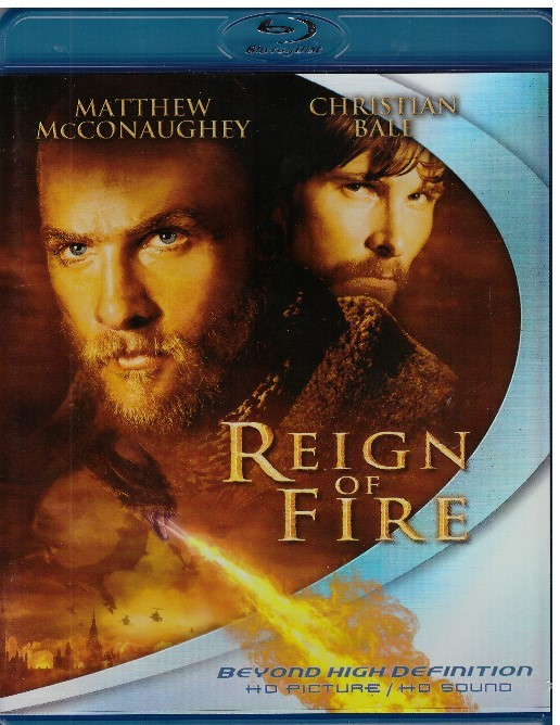 REIGN OF FIRE (BLU-RAY) USA