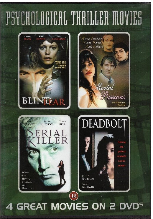 2400 PSYCHLOGICAL THRILLER MOVIES (BEG DVD)