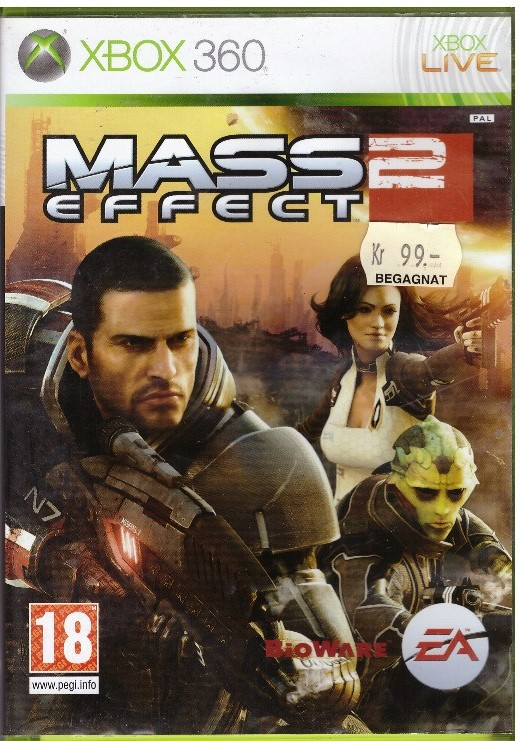 MASS EFFECT 2 (X360) BEG