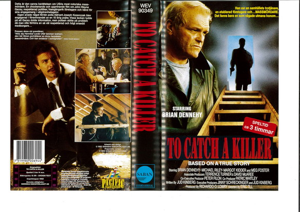 90349 TA CATCH A KILLER (VHS)