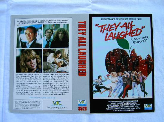 8528 THEY ALL LAUGHED (VHS)