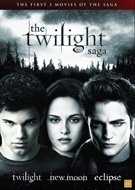 Twilight Saga box - del 1-3 (dvd)