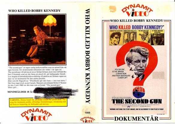 1005 WHO KILLED BOBBY KENEDY ? (VHS)