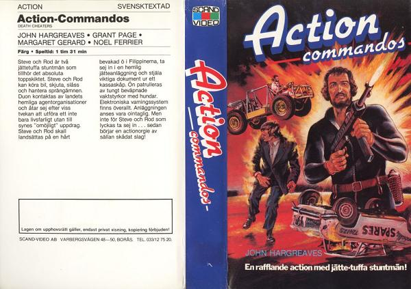 ACTION COMMANDOS (VHS)