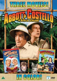 Abbott & Costello - 3 movies (beg hyr dvd)