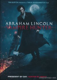 Abraham Lincoln: Vampire hunter (beg dvd)