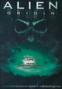 Alien origin (beg dvd)