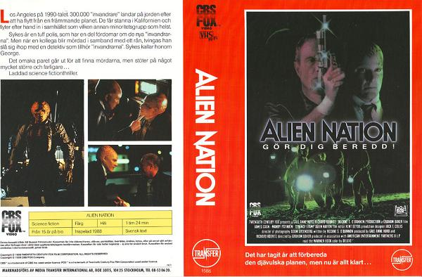 ALIEN NATION (VHS)