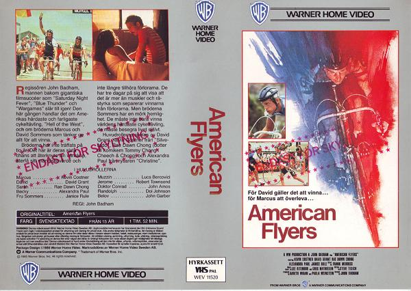 AMERICAN FLYERS (VHS)