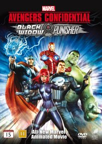 Avengers Confidential - Black Widow & Punisher (beg dvd)