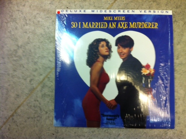 SO I MARRIED AN AXE MURDERER (LASER-DISC)