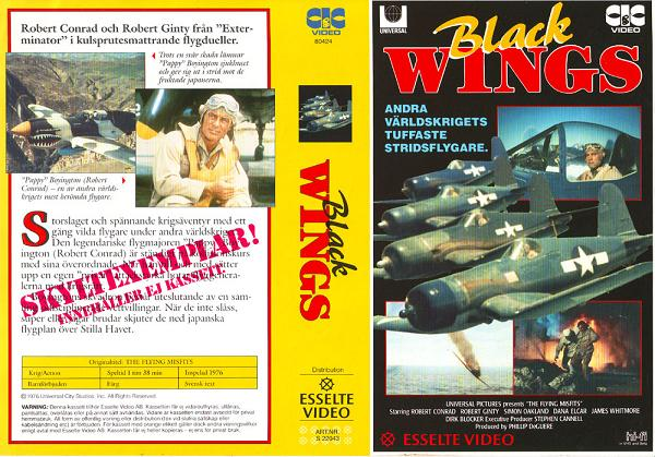 22043 BLACK WINGS (VHS)