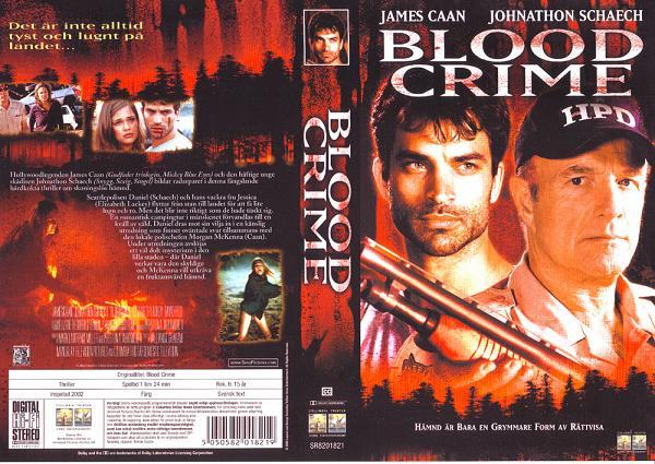 BLOOD CRIME (VHS)