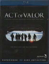 Act of Valor (beg hyr Blu-Ray)