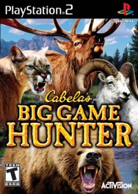 Cabela's Big Game Hunter (beg ps 2)
