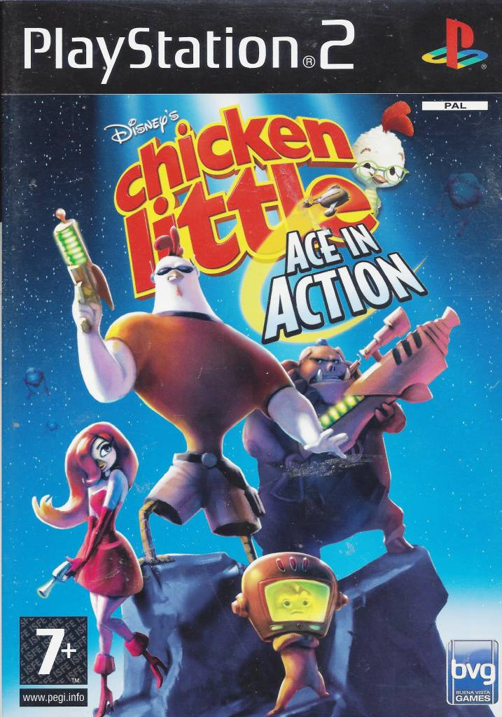 Chicken Little 2 - Ace in Action (PS 2)