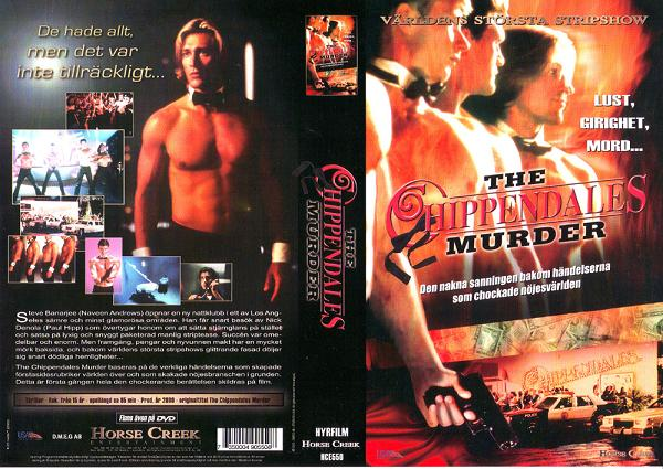 HCS 550 CHIPPENDALES MURDER (VHS)