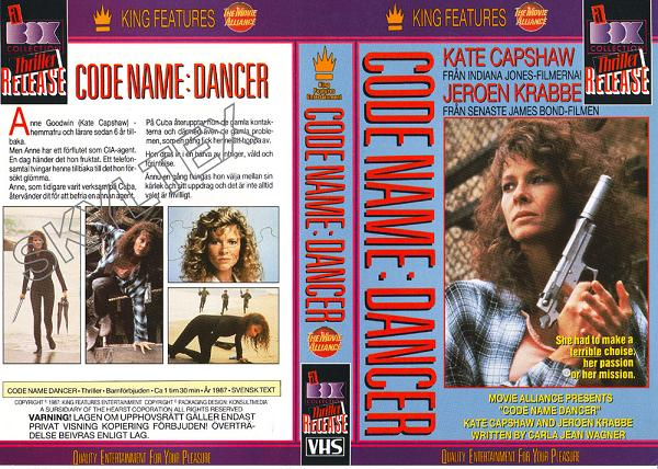 CODE NAME: DANCER (VHS)