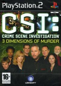 CSI  - 3 Dimensions of Murder (PS 2)