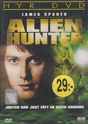 Alien Hunter (beg hyr DVD)