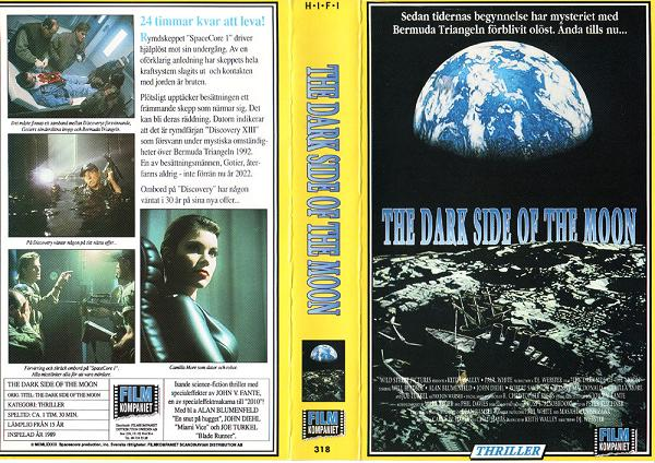 318 Dark Side Of The Moon (VHS) ej etiketter