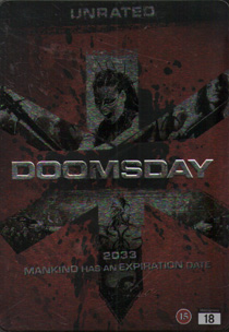 Doomsday - Steelbook (beg DVD) steelbox