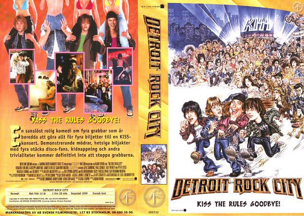 DETROIT ROCK CITY (VHS)
