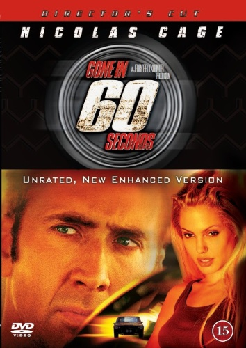 Gone in 60 Seconds (2000) (Second-Hand DVD)