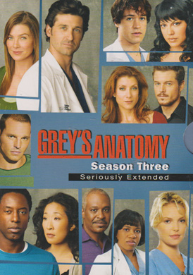 Grey's Anatomy - Season 3 (BEG DVD)
