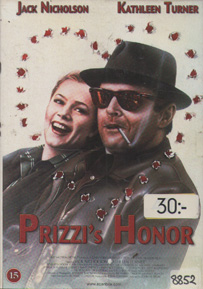 Prizzi\'s Honor (Second-Hand DVD)