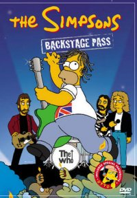 Simpsons - Backstage Pass (Second-Hand DVD)