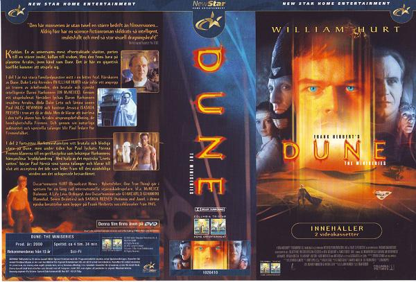 DUNE - THE MINISERIES (VHS)