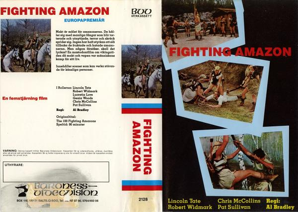 2128 FIGHTING AMAZON (VHS)